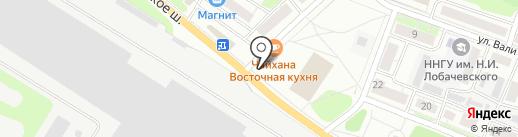 Красотка на карте Бора