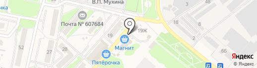 Березка на карте Ждановского