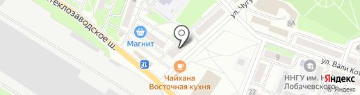 Магазин цветов на карте Бора