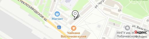 Дубки на карте Бора