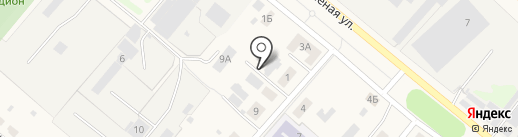 Баня на карте Ждановского