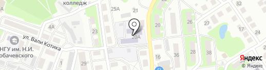 Детский сад №22 на карте Бора