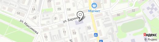 Начальная общеобразовательная школа №17 на карте Бора