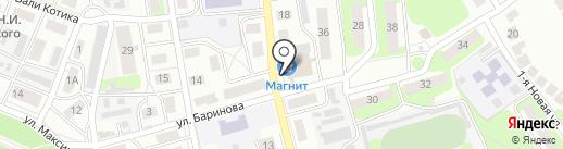Магазин детской одежды на карте Бора