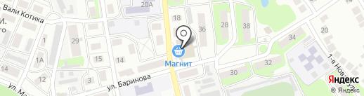Мягкий сон на карте Бора