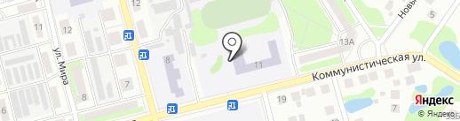 Лицей на карте Бора