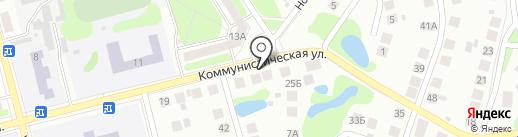 Магазин фастфудной продукции на карте Бора