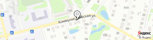 Социальный магазин одежды на карте Бора