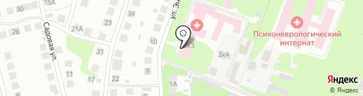 Поликлиника на карте Бора