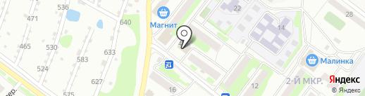 Рафаэль на карте Бора