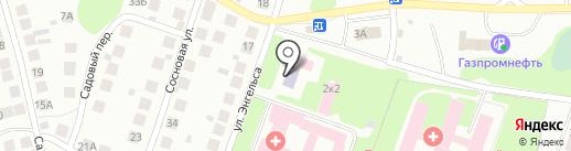 Борская детская поликлиника №2 на карте Бора