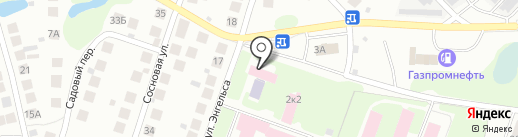 Борское межрайонное отделение судебно-медицинской экспертизы на карте Бора