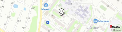 Почтовое отделение №8 на карте Бора