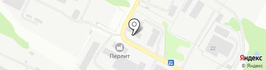 Кстовская база производственного обслуживания и комплектации оборудованием на карте Кстово