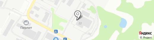 ТехноТекс на карте Кстово