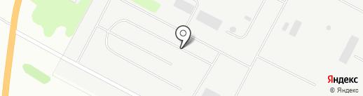 Сибур-Кстово на карте Кстово