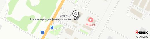 Нижегородская таможня на карте Кстово