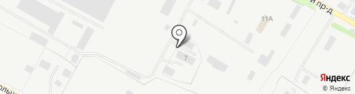 Химпроммонтаж на карте Кстово