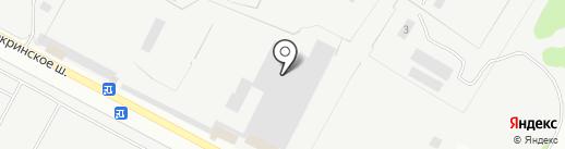 Кстовское пассажирское автотранспортное предприятие на карте Кстово
