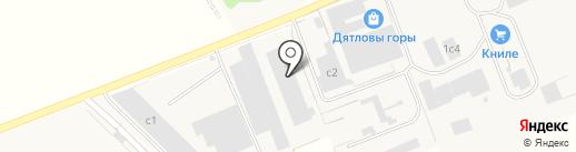 Приволжская мебельная фабрика на карте Кстово