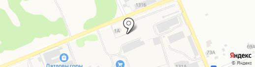 CONCRETE на карте Кстово