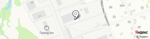 Кстовское на карте Кстово