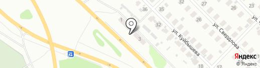 Волгострой на карте Кстово