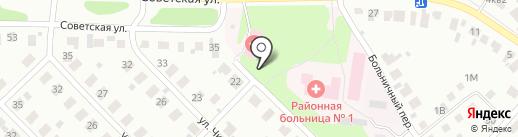 Районная больница №1 на карте Кстово