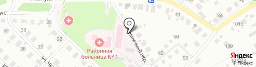 Поликлиника на карте Кстово