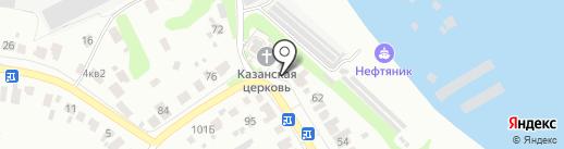 Церковь в честь Казанской Божьей Матери на карте Кстово