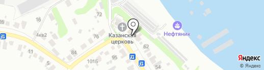 Приход Церкви в честь Казанской Божьей Матери на карте Кстово