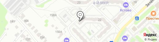 Национальная газовая компания на карте Кстово