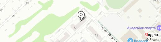 НСМУ на карте Кстово