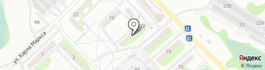 Октябрьская библиотека №11 на карте Бора