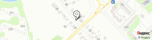 Автоцвет на карте Кстово