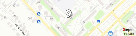Городская библиотека №3 на карте Кстово