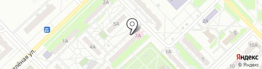 Территориальный фонд обязательного медицинского страхования Нижегородской области на карте Кстово