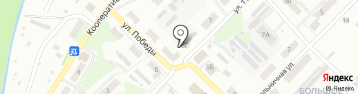 Продовольственный магазин на карте Бора
