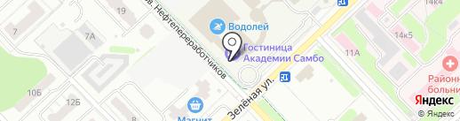 Администрация Кстовского муниципального района на карте Кстово