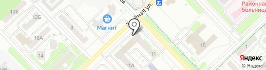 Газэнергопроект на карте Кстово