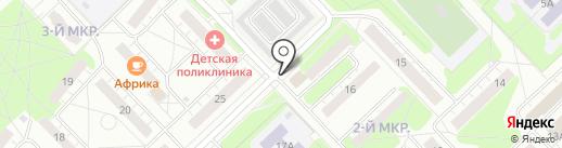 Театр кукол на карте Кстово