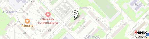 Волго-Вятский банк Сбербанка России на карте Кстово