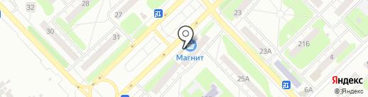 Магнит-Косметик на карте Кстово