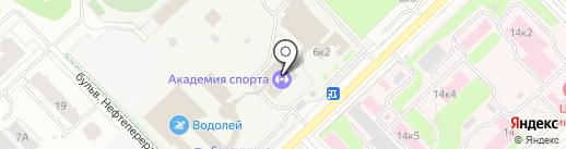 Д-спорт на карте Кстово