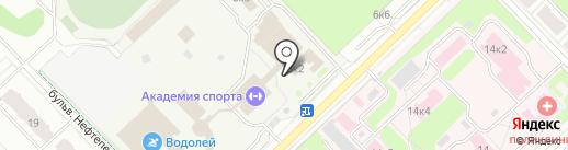 Международная Олимпийская Академия Спорта на карте Кстово