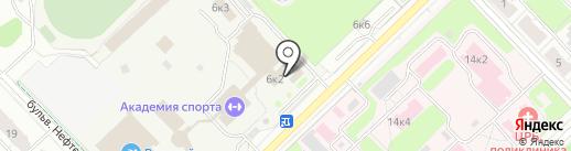 Школа самбо на карте Кстово