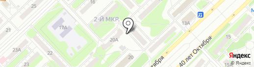 Поликлиническое отделение на карте Кстово