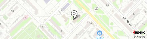 Межрайонная инспекция Федеральной налоговой службы №6 по Нижегородской области в г. Кстово на карте Кстово