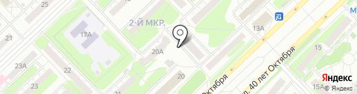 Иномарка на карте Кстово