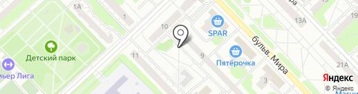 Восток-Электро плюс на карте Кстово